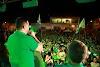 Rafael Fernandes: Bruno Anastácio e Sérgio Sena arrastaram multidão em mais um comício; Prefeito Leonardo Rêgo da cidade de Pau dos Ferros prestigiou o evento