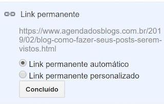 Blog: Link permanente