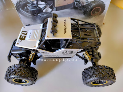 Review Toys Off Road Rock Crawler Car beli di shopee