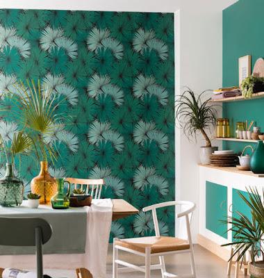 papel pintado plantas naturaleza verde