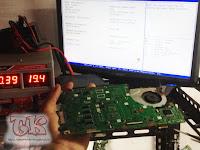 Service Laptop Asus A455LD Problem Tidak Bisa Charging / Tidak Mau Memakai Charger laptop