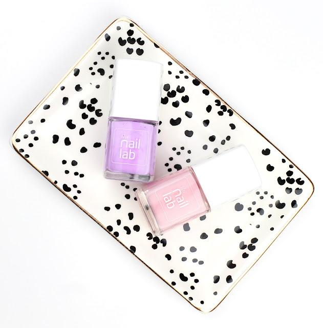 The Nail Lab Polish Edna Grace Spring pastel shades