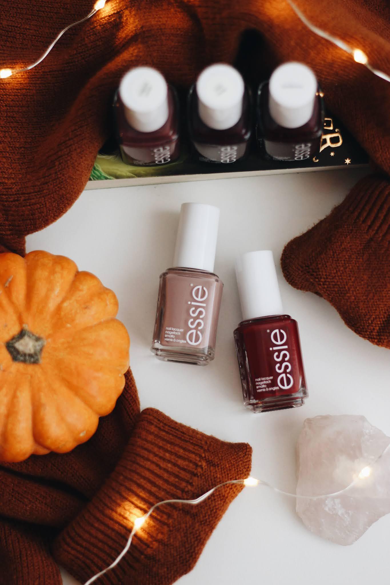 Essie Autumn Fall Nail Favourites