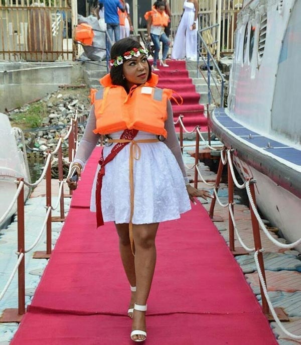 Photos: Actress Rachael Okonkwo aka Nkoli Nwa Nsukka throws all-white birthday bash