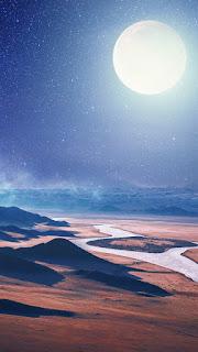 تحميل صور خلفية للقمر.
