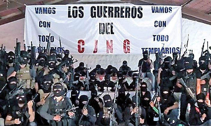 La rápida expansión del CJNG desplaza al Cártel de Sinaloa; opera en 22 entidades del país.