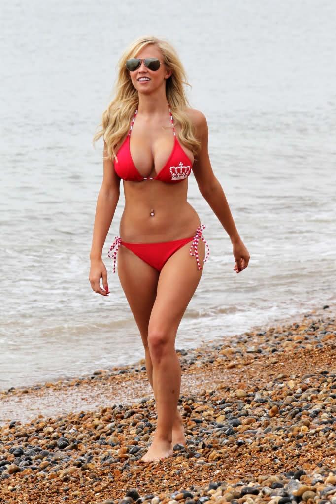 Movie Stars Photo Gallery Sophie Reade In Red Bikinis