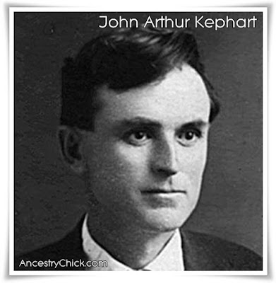 John Arthur Kephart - Maternal Great Grandfather