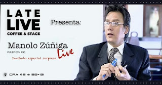 "Manolo Zuñiga ""Papuchis"" LIVE 