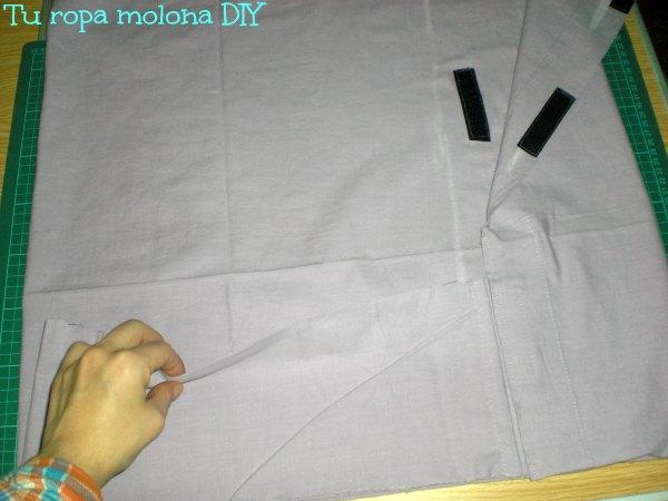 coser bolsillo