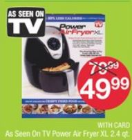 As Seen On TV Power Air Fryer