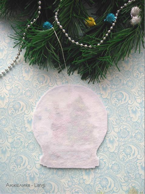 Снежный шар от Овен