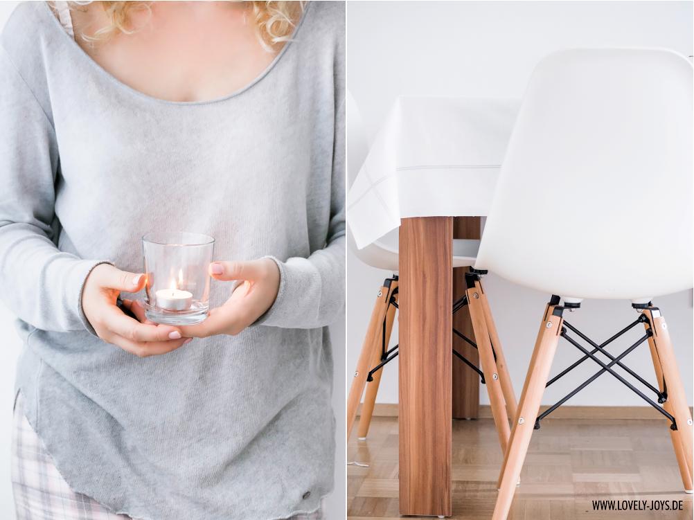 Vitra Stühle Esszimmer weiß Charles Eames Chair
