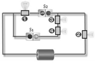contoh sekema praktikum rangkaian listrik sd kelas 6