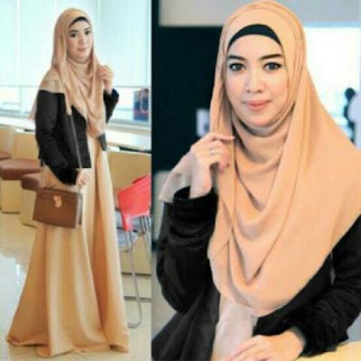 Hijab modern untuk jalan jalan tetap syari