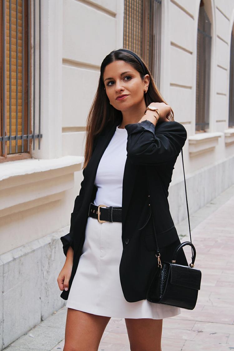look elegante con diadema otoño 2019