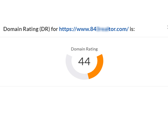 Increase Your DR ahrefs Domain Rating to 40+