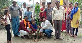 दिव्यांग बच्चों ने किया पौधरोपण | #NayaSaberaNetwork