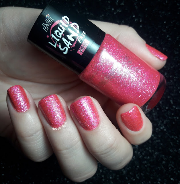 pink liquid sand bella brazil