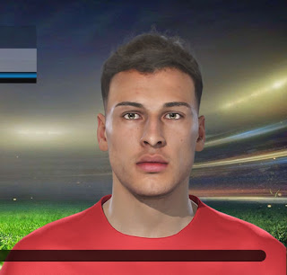 PES 2019 Faces Gabriel Martinelli by Lucas Facemaker