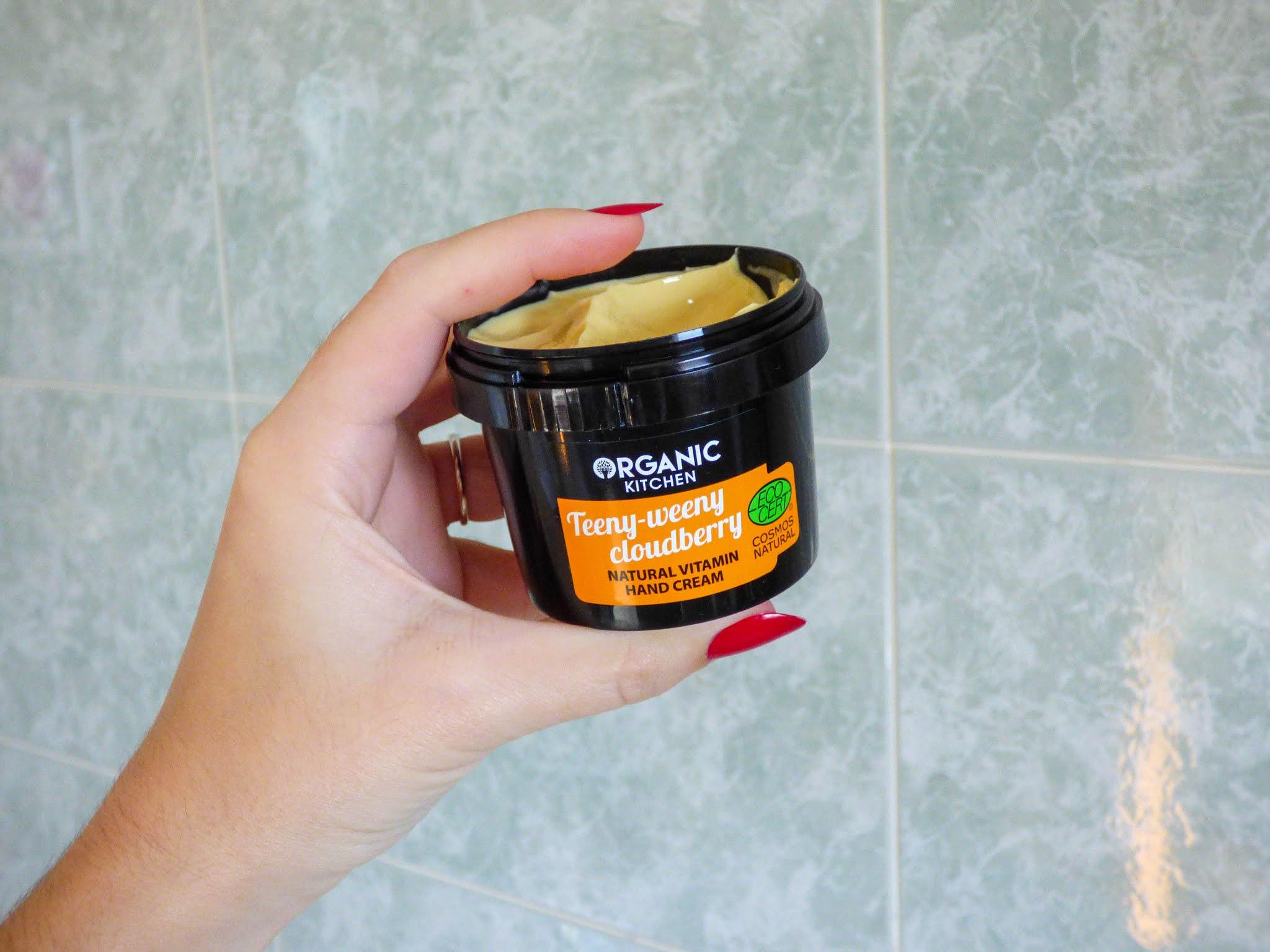 La Crema mani vitaminica di Organic Kitchen