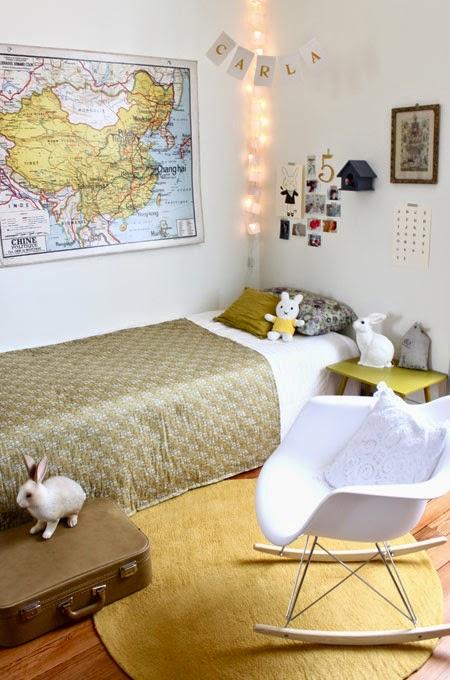 DECOPEDIA: un dormitorio infantil de estilo vintage