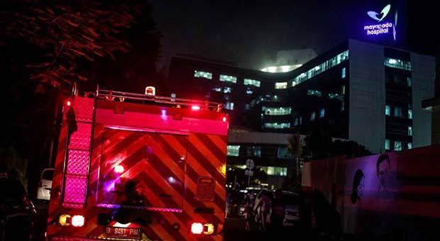 Rumah Sakit Mayapada Lebak Bulus Dilalap Si Jago Merah
