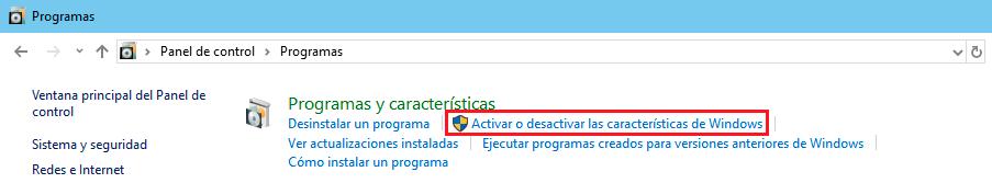 activar desactivar