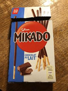 グリコのMIKADOのパッケージ(外箱)