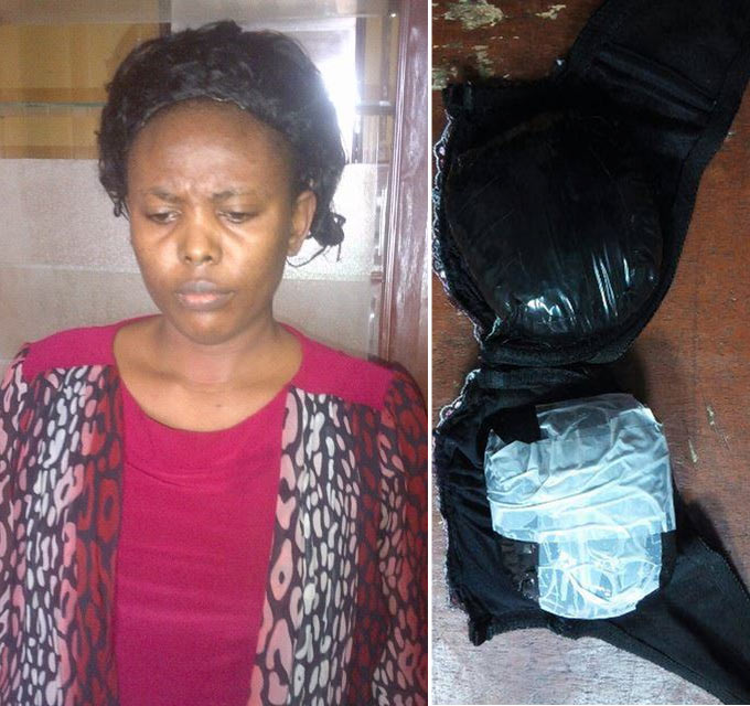 He lured me with N1m - Hairstylist nabbed with cocaine inside her bra