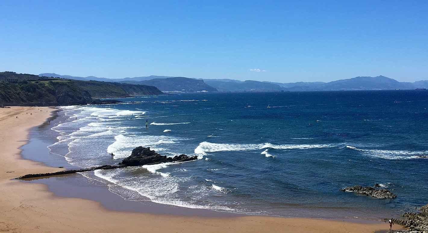 sopela playa