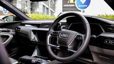 All Black Audi e-tron Electric SUVs Tested As Chauffeur Car