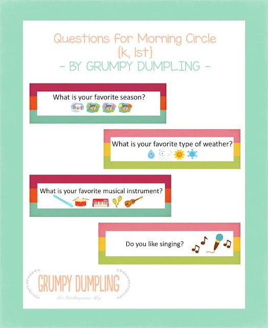 https://www.teacherspayteachers.com/Product/Questions-for-Morning-Circle-K-1st-2339449