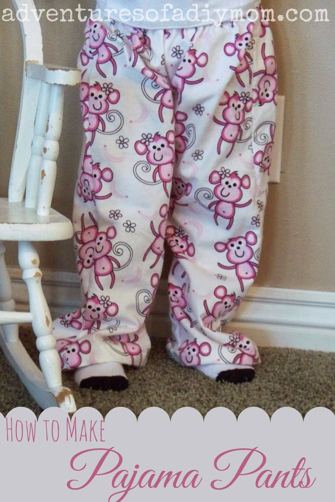 How to Make Kids Flannel Pajama Pants