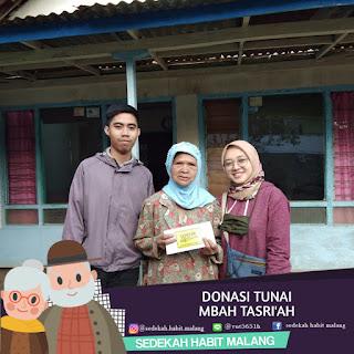 Mbah Tasriah : Donasi Tunai