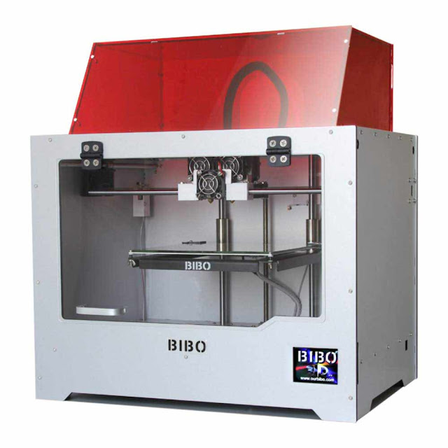 BIBO Dual Extruder 3D Printer - best 3D printer