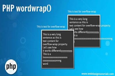 PHP wordwrap() Function