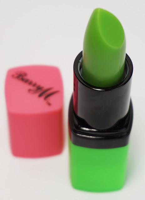 """Barry M - Genie (Grüner """"Zauberstift"""" macht rosa Lippen!)"""