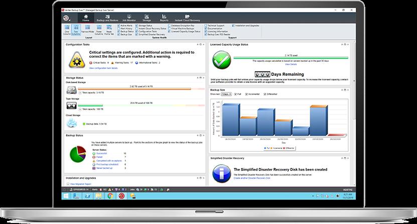 تحميل أفضل برنامج نسخ احتياطي واستعادة الملفات سريعة Veritas Backup Exec 21.0.1200 النسخة الكاملة