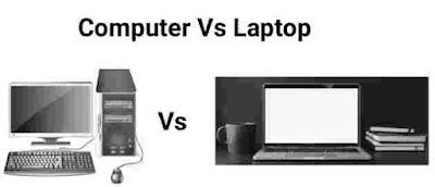 Computer Vs Laptop. Computer or laptop ke beach me andar.