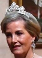 anthemion tiara sophie countess wessex united kingdom wedding