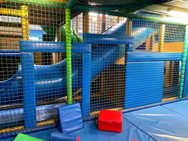 view into the soft play area at Great Yarmouth Sea life centre which is currently closed