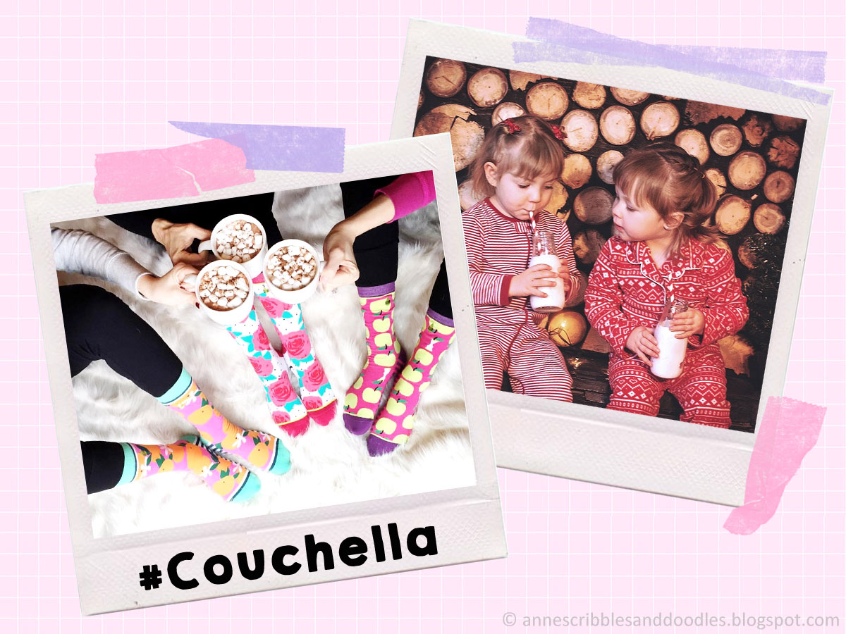 5 Hashtags for Your Next Bestie Photo: #Couchella | Anne's Scribbles and Doodles