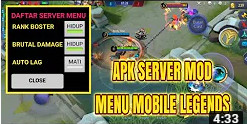 Download APK Tools Server Mod Patch Dyrroth Mobile Legends