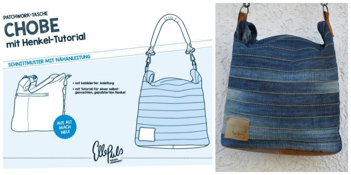 Patchwork-Tasche CHOBE von EllePuls