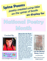 bridget eileen national poetry month book title poems display