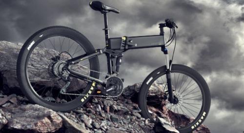 Legend elektrische mountainbike opvouwbaar