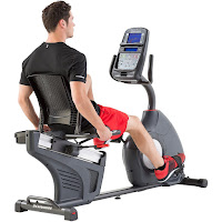 2017 Schwinn 270 Recumbent Bike, with 29 programs, 25 ECB resistance levels, 4 user profiles, Bluetooth connectivity