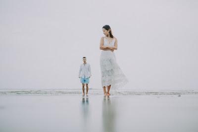 Honeymoon photo session in Canggu