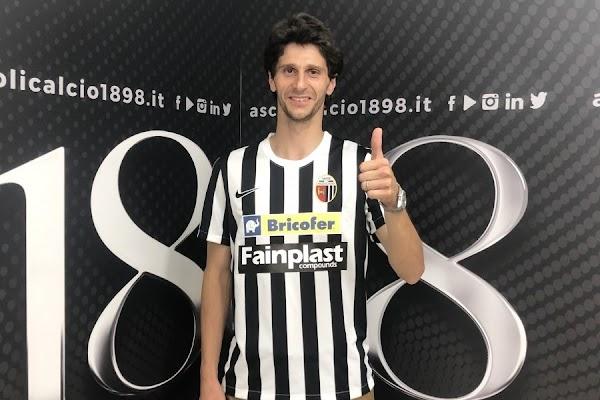 Oficial: El Ascoli ficha a Fabbrini